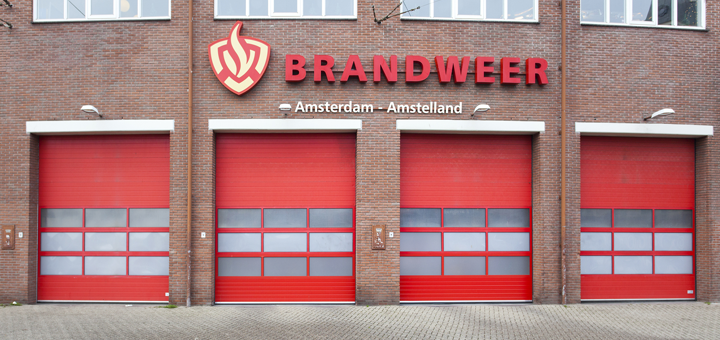 Maintaining a safe distance at Amsterdam-Amstelland Fire Service